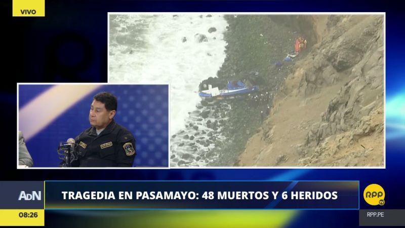 El coronel PNP Dino Escudero estuvo esta mañana en Ampliación de Noticias.