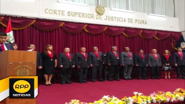 El magistrado también detalló que un total de 42 mil 287 resoluciones judiciales se dieron durante el año 2017.