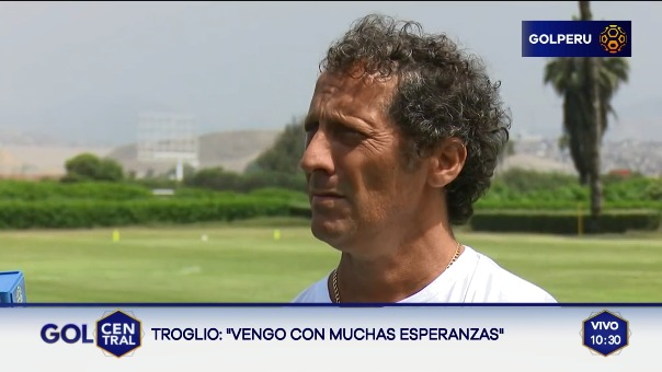 Pedro Troglio tendrá que afrontar la campaña con juveniles.