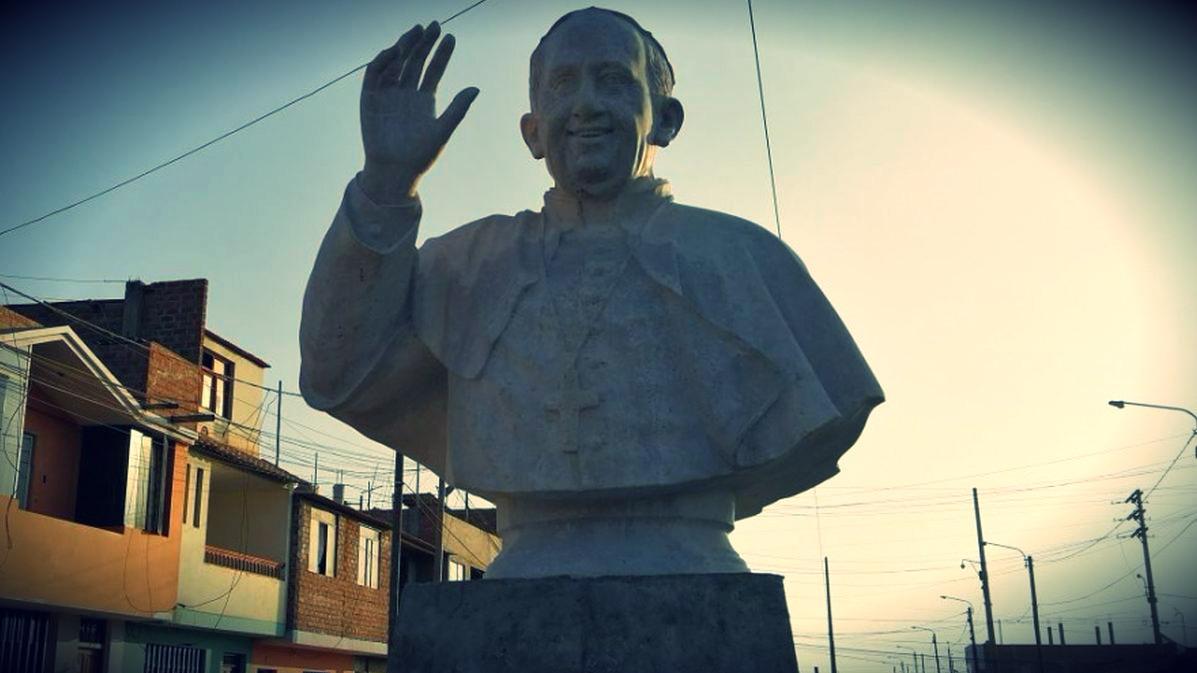 Retrato del papa ya está listo.