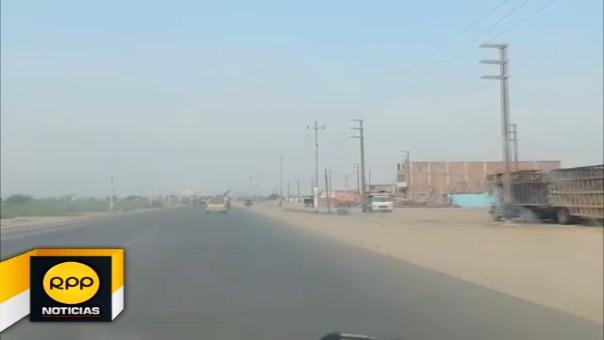 Carreteras peligrosas en Lambayeque