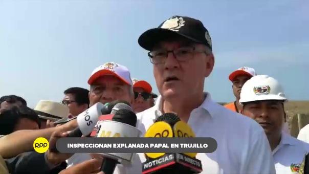 El ministro de Trabajo, Alfonso Grados, advirtió que aún hay obras que faltan ejecutar pese a la proximidad de la visita papal.