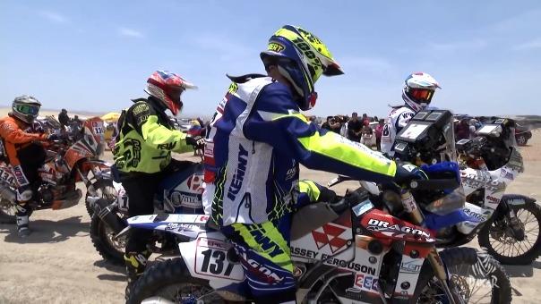 Resumen de la primera etapa del Dakar Lima-Pisco.