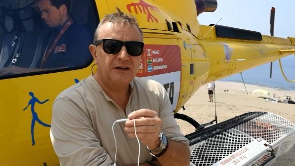 El balance positivo de Etienne Lavigne, Director del Rally.