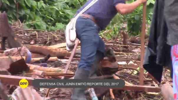 Una de las principales emergencias se registró en Puerto Prado (Satipo).