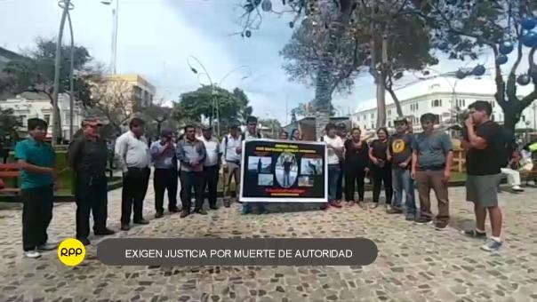 Familiares y amigos piden justicia y la ubicación de los asesinos del teniente gobernador del sector El Mirador del distrito de Chongoyape.
