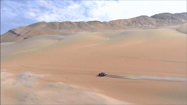 Resumen de la segunda etapa del Dakar Pisco-Pisco.