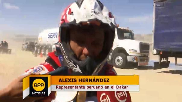 RPP informando todo lo que sucedió en la tercera etapa del Rally Dakar.