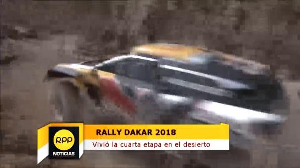 Lo mejor de la cuarta etapa del Rally Dakar.