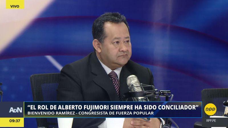 """""""Espero nunca dejarme atropellar por una mototaxi"""", comentó Bienvenido Ramírez."""
