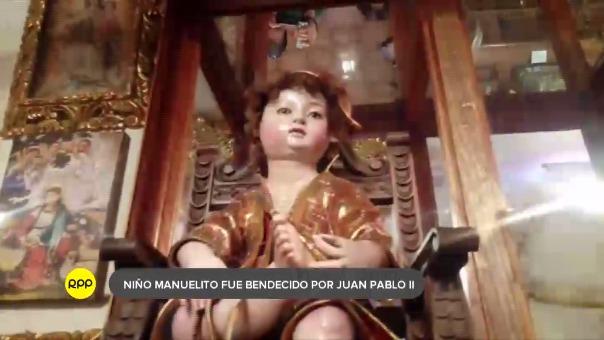 El Niño de la Espina, fue creado por el maestro Antonio Olave y entregado como regalo al papa Juan Pablo II, durante su visita a Cusco en el año 1985.