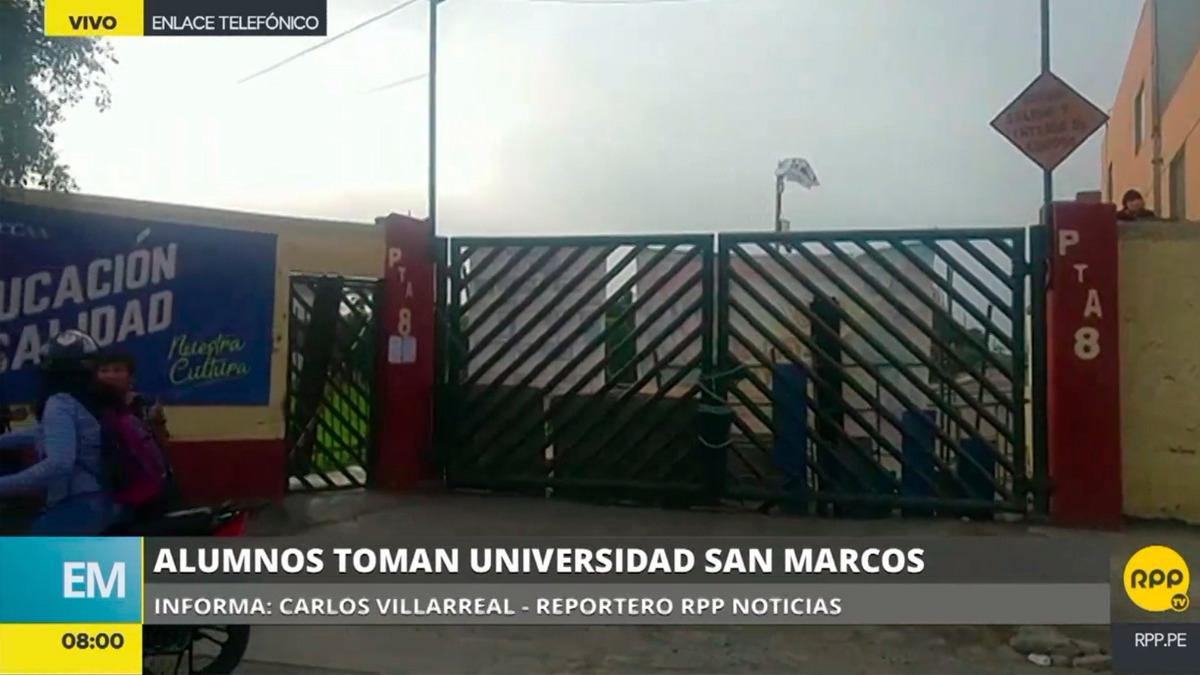 Los alumnos impidieron el acceso a la Ciudad Universitaria.
