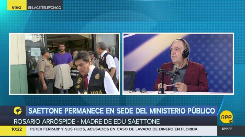 Rosario Arróspide rechazó la nueva sentencia judicial contra su hijo.