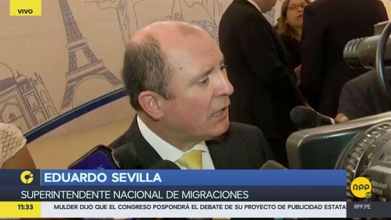 Eduardo Sevilla informó que su sector está preparado para el incremento de turistas por la visita papal.