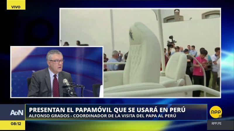 Alfonso Grados confirmó que ya está en Perú una comitiva del Vaticano para coordinar las actividades del papa.