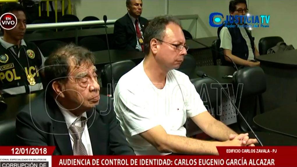 Carlos García fue detenido este viernes en un operativo de la fiscalía.