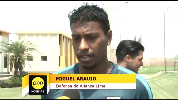 Miguel Araujo fue parte del plantel de la Selección Peruana que logró el boleto a Rusia 2018.