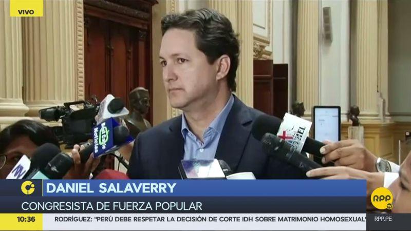 Daniel Salaverry minimizó el repunte de la popularidad de Kenji Fujimori.