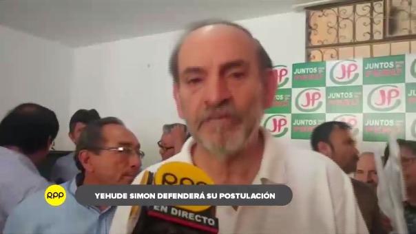 Simon Munaro dijo que hoy que ya se considera candidato al Gobierno Regional de Lambayeque