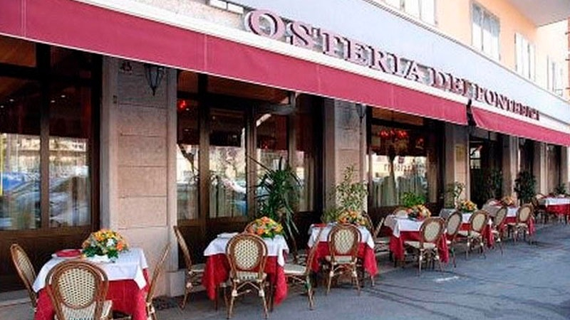 El restaurante fue fundado en 1959 por la familia Maggi y desde entonces recibe la visita constante de miembros de la Iglesia.