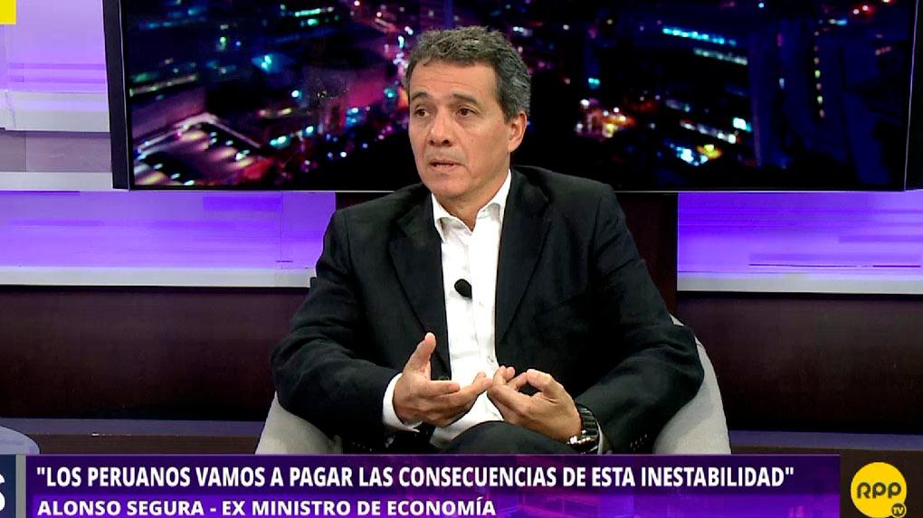 Alonso Segura fue ministro de Economía del Gobierno de Ollanta Humala entre el 2014 y 2016.