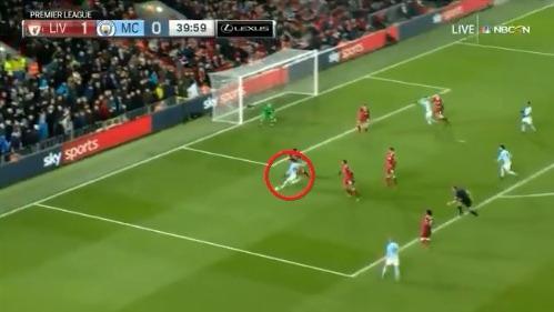 Leroy Sané ha marcado 7 goles en los 16 partidos que ha jugado como titular con el Manchester City.