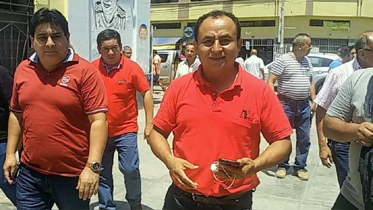 Gregorio Santos en Chiclayo.