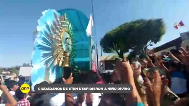 Divino Niño del Milagro deja parroquia de Ciudad Eten