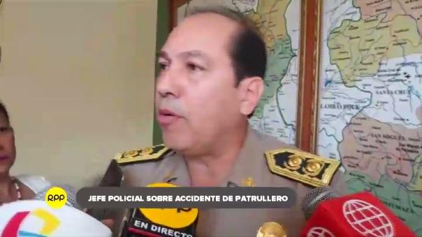 Jefe policial pidió disculpas a feligresía lambayecana