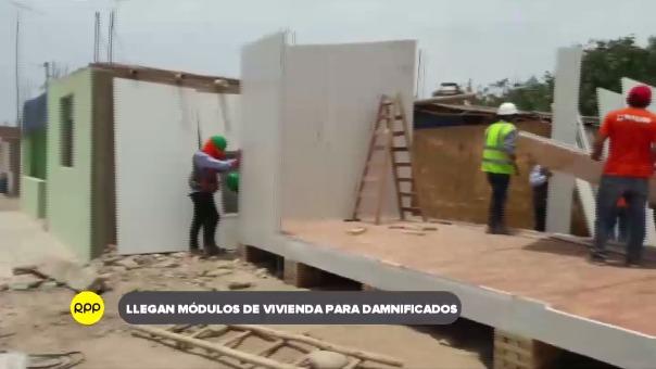 Instalación de módulo temporal de vivienda en Bella Unión.