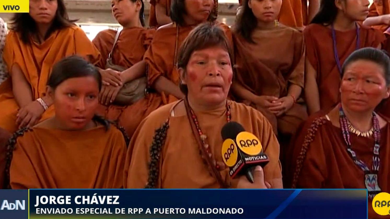 Isabel Barboza, representante de la comunidad asháninka, detalló sus pedidos a las autoridades en medio de la llegada del papa Francisco a Madre de DIos.