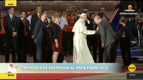 No fue la primera vez que PPK hizo esto al papa Francisco.