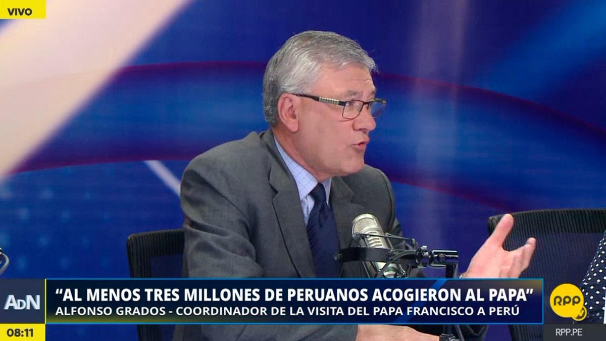 Alfonso Grados, exministro de Trabajo, fue el encargado de coordinar la visita del Papa al Perú.