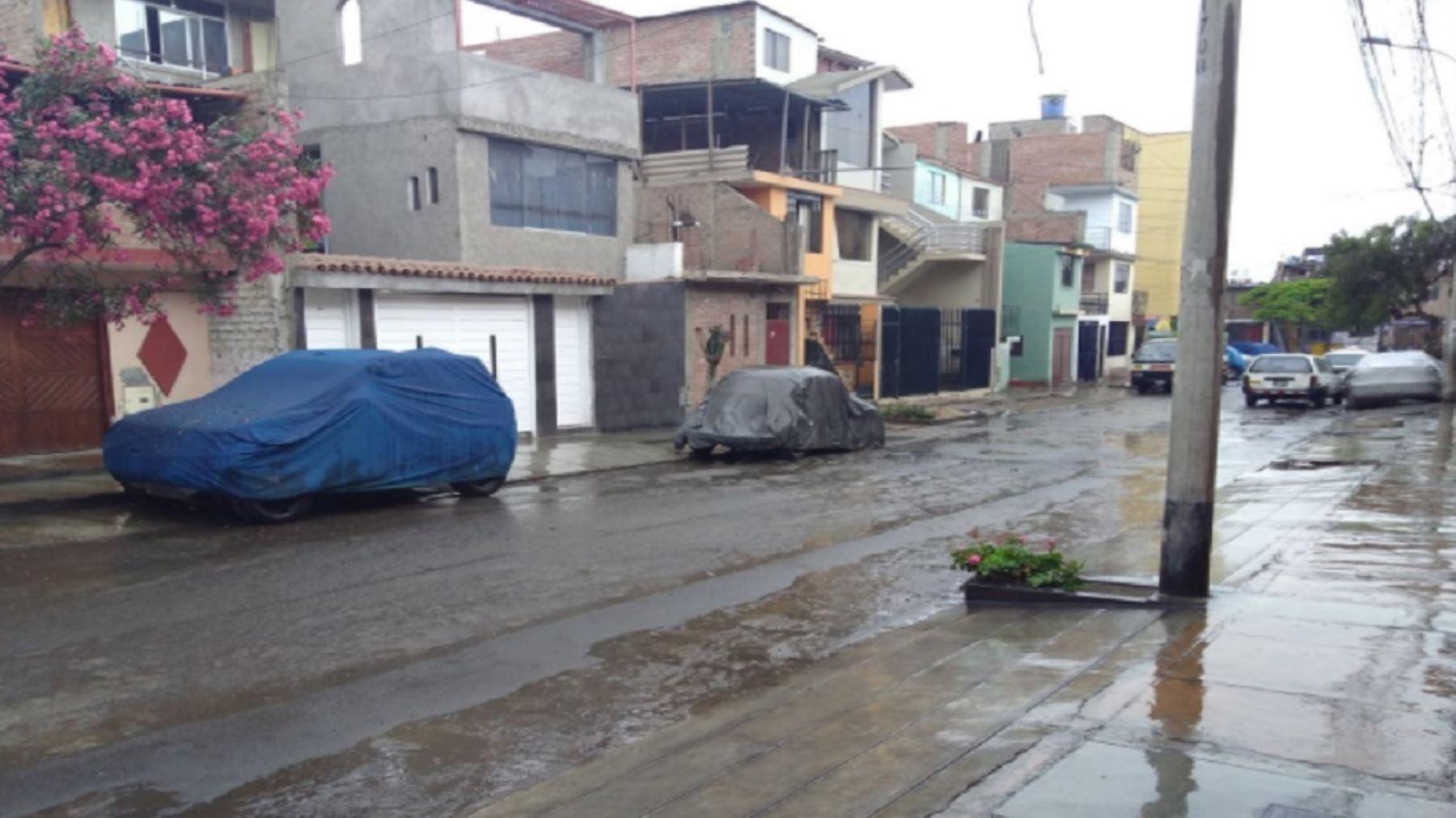 El Senamhi pronosticó lluvias moderadas en toda la región.