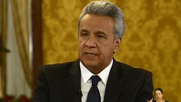 Lenin Moreno se pronunció sobre la situación de Julian Assange.