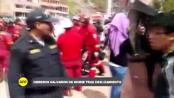 Hecho se registró en la zona noroccidental de Cusco, ambos heridos se recuperan en el hospital de contingencia Antonio Lorena.