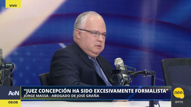 El abogado de José Graña Miró Quesada estuvo esta mañana en Ampliación de Noticias.