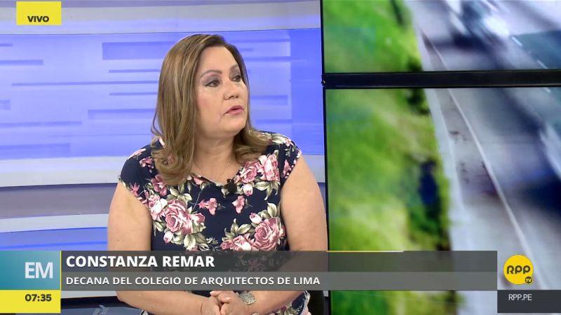 Constanza Remar estuvo esta mañana en los estudios de RPP Noticias.