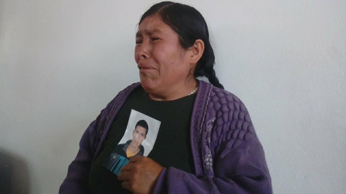 Madre del desaparecido realiza la incansable búsqueda desde el 12 de enero, día en el que el joven salió solo de su casa.
