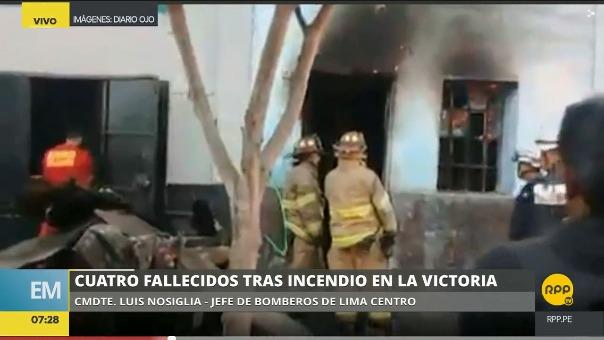 El hecho ocurrió en la cuadra 6 del jirón Saenz Peña en La Victoria.