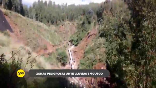 Municipalidad de Cusco notificó a los propietarios para verificar la condición de sus viviendas, además se realizan trabajaos de prevención.