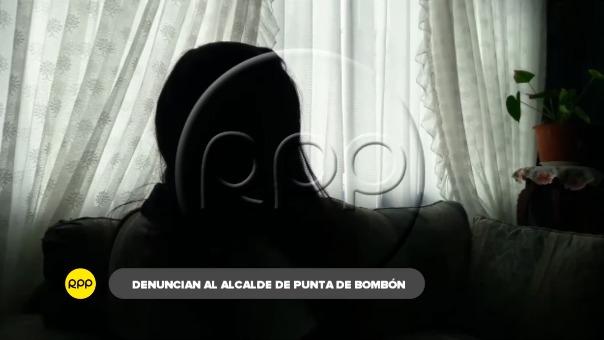 Joven trabajadora denunció a alcalde de Punta de Bombón, José Ramos.