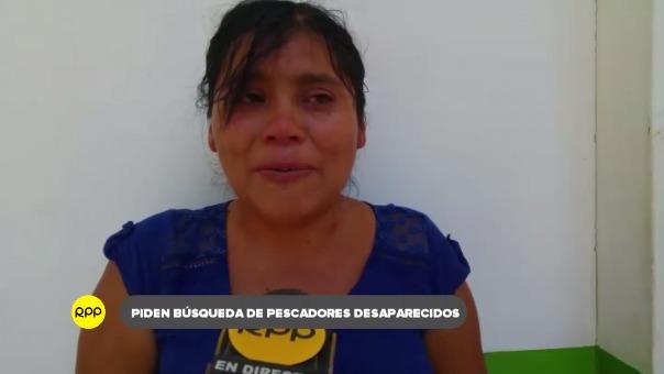 Delia Vallesteras  Sucuple llegó a Piura desde su natal Morrope para obtener información del accidente.