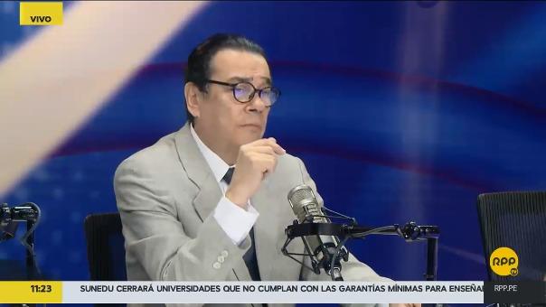 La posición del ministro Mendoza es la oficial del Gobierno.