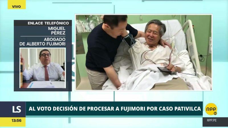 El abogado de Alberto Fujimori interpretó así el caso Pativilca.