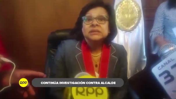 Alcalde de Punta de Bombón, colabora con investigaciones