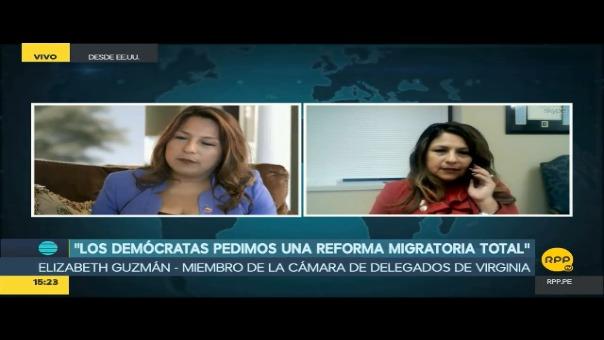 Elizabeth Guzmán hará historia este martes, cuando responda al presidente Trump.