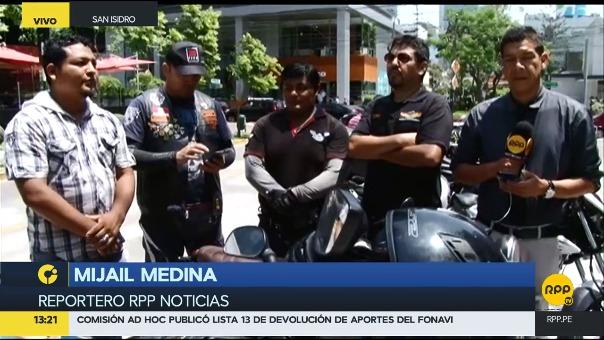 Motociclistas rechazan que se prohíba el traslado de dos personas en moto.