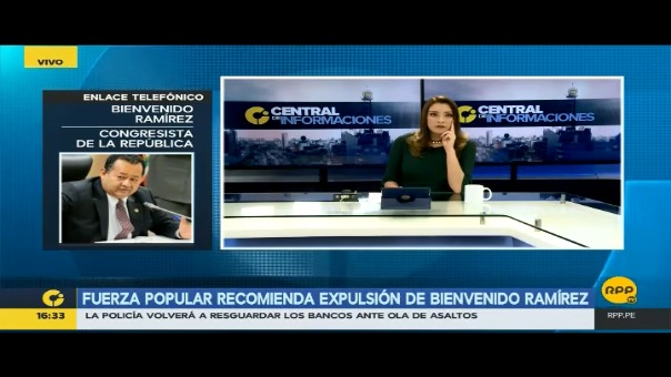 Bienvenido Ramírez dijo que la decisión del Comité Disciplinario va en contra de la Constitución.