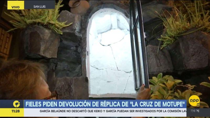 Los fieles invocaron a los ladrones a reflexionar sobre su accionar y devolver este símbolo religioso.